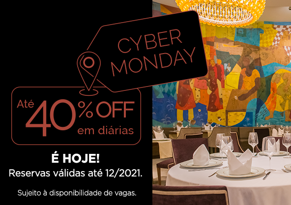 Cyber Monday Wish Hotel da Bahia